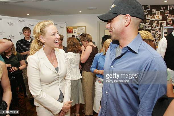 Virginia Madsen and Billy Dec during Virginia Madsen Hosts Kiehl's Grand Opening in Chicago at Kiehl's Since 1851 in Lincoln Park in Chicago,...