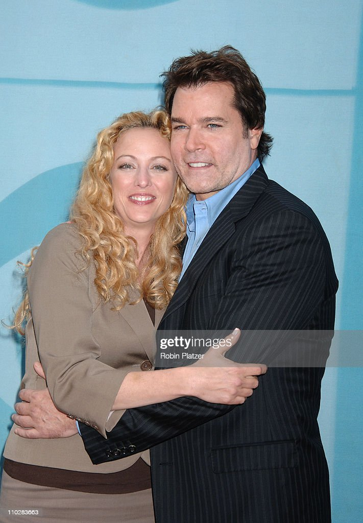 Virginia Madsen and Ray Liotta during CBS Upfront 2006 - 2007 at Tavern On The Green in New York City, New York, United States.