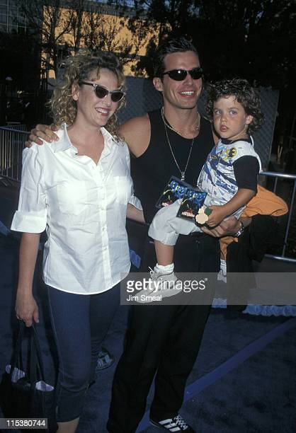 Virginia Madsen Antonio Sabato Jr and their son Jack