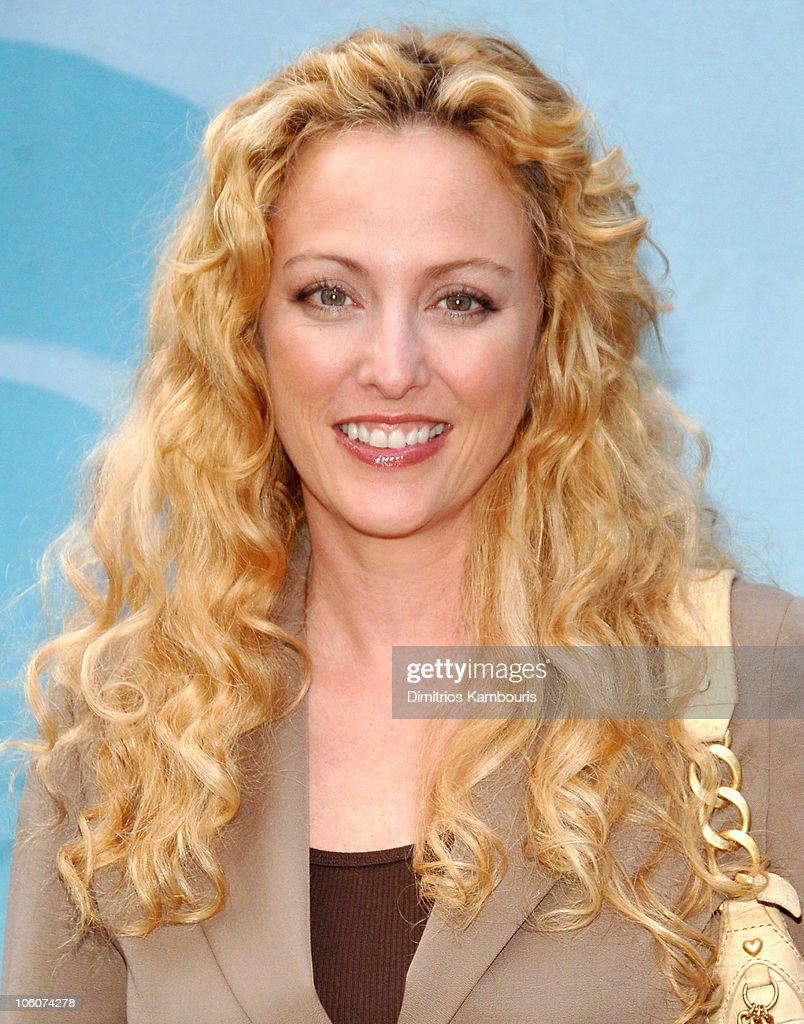 Virginia Madsen during CBS 2006/2007 Upfront - Red Carpet at Tavern on the Green in New York City, New York, United States.