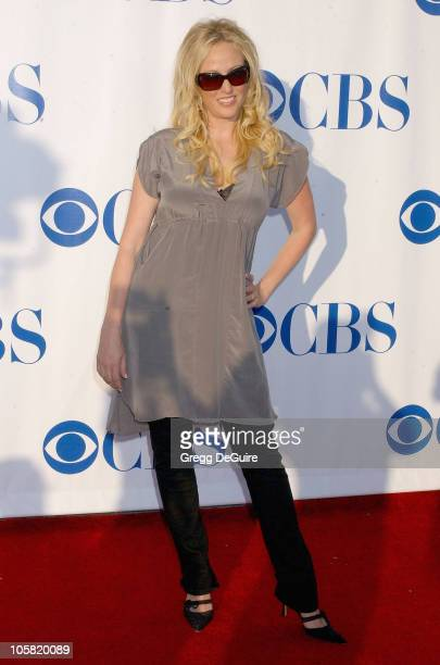 Virginia Madsen during CBS Summer 2006 TCA Press Tour Party - Arrivals at Rose Bowl in Pasadena, California, United States.