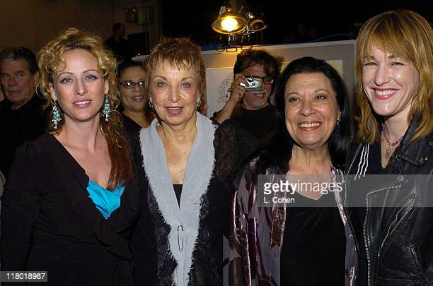 Virginia Madsen Jeanie Linders writer of Menopause The Musical Shelley Morrison and Kathleen Wilhoite