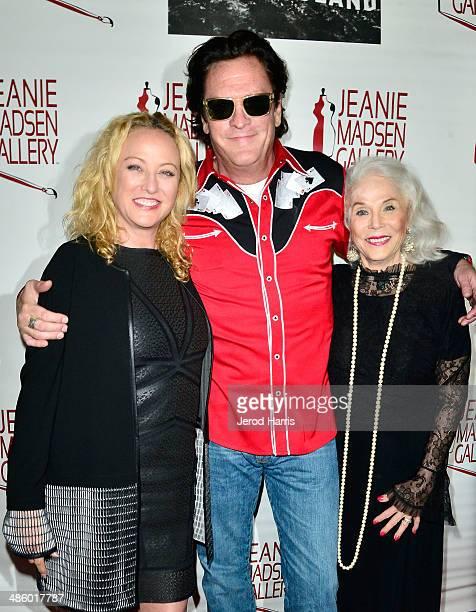 Virginia Madsen Michael Madsen and Elaine Madsen attend 'Women Empowering Women' benefiting the Aparecio Foundation at Jeanie Madsen Gallery on April...
