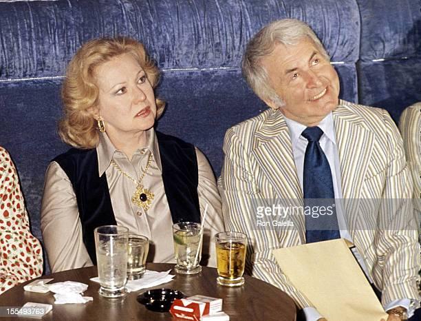 Virginia Mayo and Col Gardner during Virginia Mayo File Photos 1977 United States
