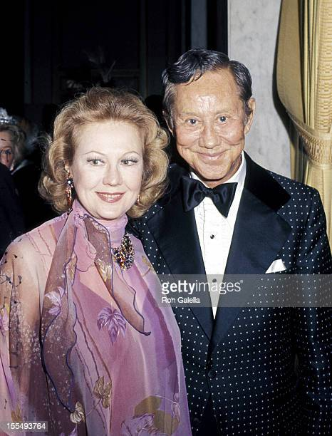 Virginia Mayo and guest during Virginia Mayo File Photos 1979 United States