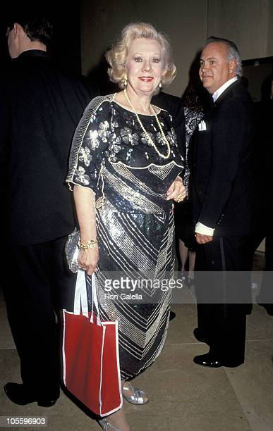 Virginia Mayo during Friends of Child Help Honor Ginger Rogers and Virginia Mayo at Beverly Hilton Hotel in Beverly Hills California United States