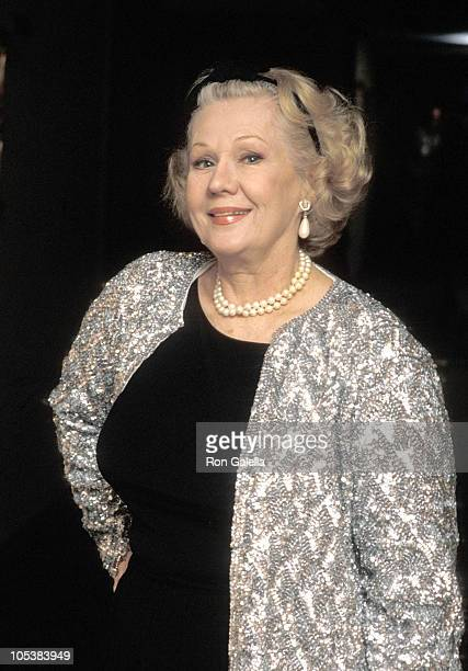 Virginia Mayo during St Martin's Press Party March 21 1990 at Bel Age Hotel in Hollywood California United States