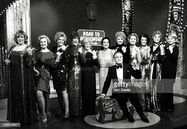 Virginia Mayo Janis Paige Jill St John Martha Raye Lucille Ball Rhoda Fleming Dorothy Lamour Jane Russell Dina Merrill and Dorothy Hyer