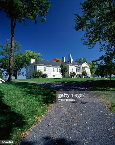 USA, Virginia, Middletown, Belle Grove Plantation, exterior