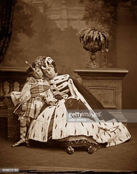 """Virginia Oldoini, Countess of Castiglione, better known as """"La Castiglione"""" , Italian aristocrat who achieved notoriety as a mistress of Emperor..."""