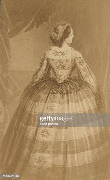 Virginia Oldoini Countess Verasis de Castiglione Ca 1865