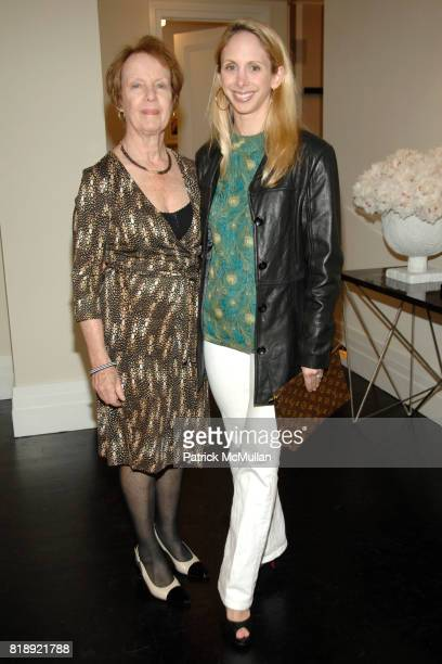 Virginia Pitman and Lara Glazier attend LENOX HILL NEIGHBORHOOD HOUSE celebrates RICHARD MISHAAN'S Model Apartment at 180 East 93rd Street on May...