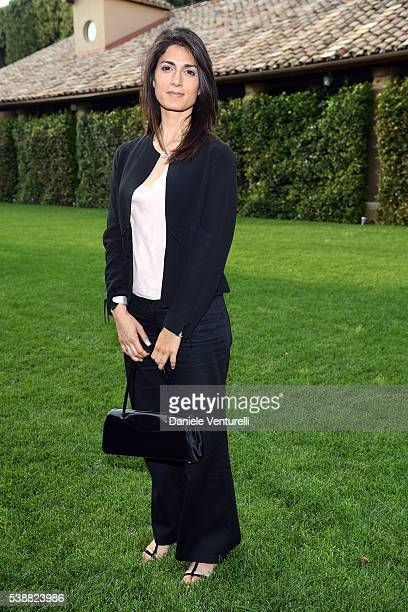 Virginia Raggi attends the dinner hosted by Baume Mercier to celebrate Richard Gere 'Time Out Of mind' on June 8 2016 in Rome Italy