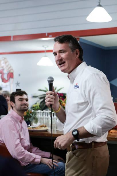VA: Glenn Youngkin Campaigns Ahead Of Next Week's Gubernatorial Election