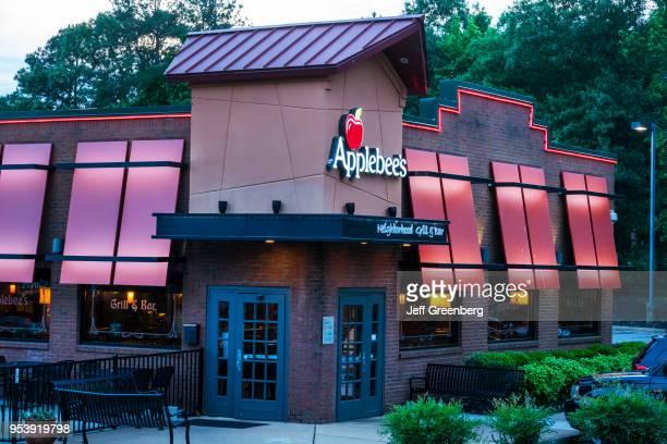 Virginia Richmond Midlothian Parkway Applebee's Neighborhood Grill and Bar restaurant at dusk