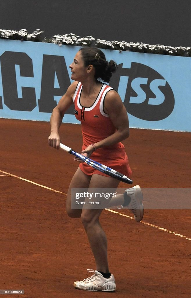 Virginia Ruano, ESP, tennis in 'Mutua Madrilena Madrid Open' , 8th May 2010, in 'La Caja Magica'. Madrid, Spain.