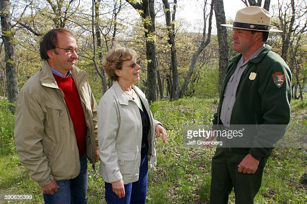 Virginia, Shenandoah National Park, Big Meadows Lodge, National Park Service Ranger.