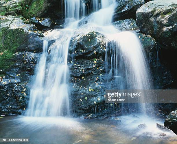 USA, Virginia, Shenandoah National Park, Waterfall, long exposure