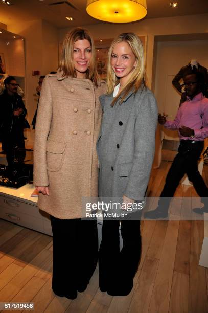 Virginia Smith and Meredith Melling Burke attend Ann Taylor Flatiron Store Opening at Ann Taylor NYC on December 2 2010 in New York City