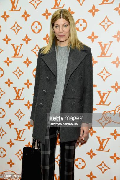 Virginia Smith attends the Louis Vuitton X Grace Coddington Event on October 25 2018 in New York City