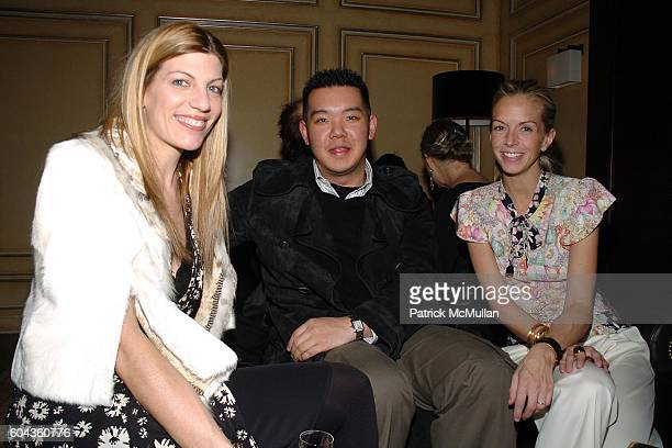 Virginia Smith Jim Shi and Meredith Melling Burke attend GUCCI Private dinner in honor of Cate Blanchett celebrating the Sydney Theatre Company...