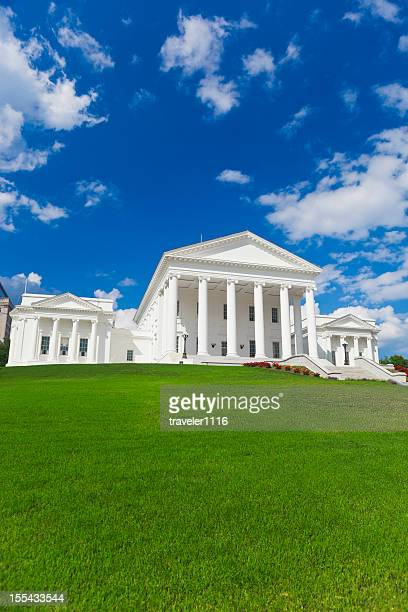 virginia state capitol building in richmond - virginia us state stock pictures, royalty-free photos & images
