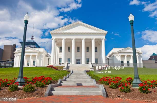 Virginia State Capitol Building In Richmond