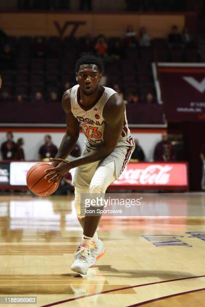 Virginia Tech Hokies guard Tyrece Radford during a college basketball game between the Garnder Webb Runnin' Bulldogs and the Virginia Tech Hokies on...