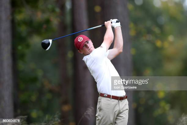 Virginia Tech's Connor Burgess on the 6th tee The second round of the Tar Heel Intercollegiate Men's Golf Tournament was held on October 7 at the UNC...