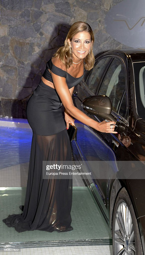 Virginia Troconis attends Starlite Gala on August 9, 2015 in Marbella, Spain.