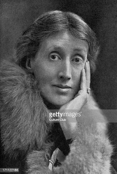 Virginia Woolf English novelist and essayist 25 January 1882 28 March 1941 Unknown photographer in Bookman January 1928
