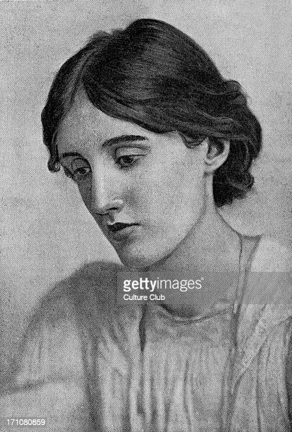 Virginia Woolf portrait of the English novelist and essayist 25 January 1882 28 March 1941