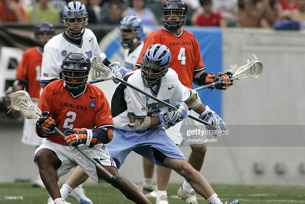 John Christmas Lacrosse.Virginia S John Christmas Runs Into The Johns Hopkins