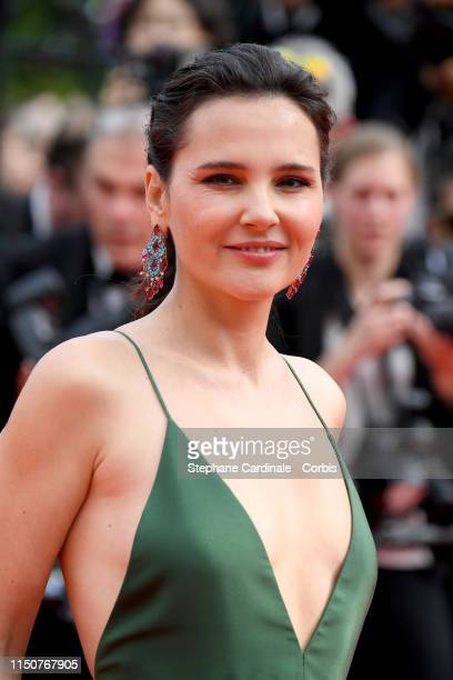 Virginie attends the screening of Once Upon A Time In Hollywood during the 72nd annual Cannes Film Festival on May 21 2019 in Cannes France