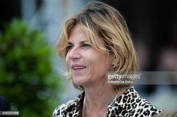 Virginie Couperie Eiffel organizer of Longines Paris Eiffel Jumping during Longines Paris Eiffel Jumping on July 2 2016 in Paris France