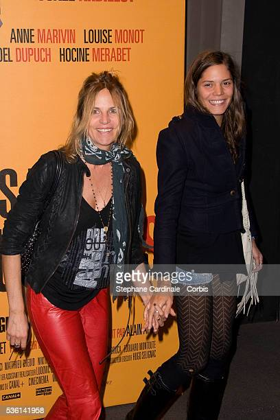 Virginie Couperie with her daughter Vanille Clerc attends the premiere of Les Petits Mouchoirs in Paris