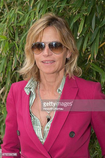 Virginie CouperieEiffel attends the French Open 2015 at Roland Garros on May 30 2015 in Paris France