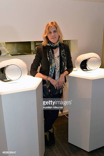 Virginie CouperieEiffel attends the 'Phantom L'Implosive Sound Center De Devialet' cocktail launch at Colette on February 16 2015 in Paris France