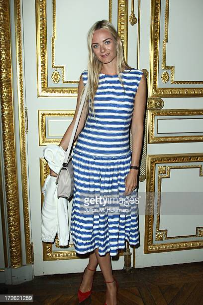 Virginie Courtin Clarins attends the Founder And CEO Alessandro Savelli And Contemporary Style Icon Julia Retoin Roifeld Launch SAVELLI The World's...