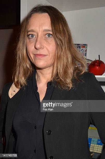 Virginie Despentes attends the 'Prix Bel Ami 2012' Women Literary Awards at Hotel Bel Ami on March 22 2012 in Paris France