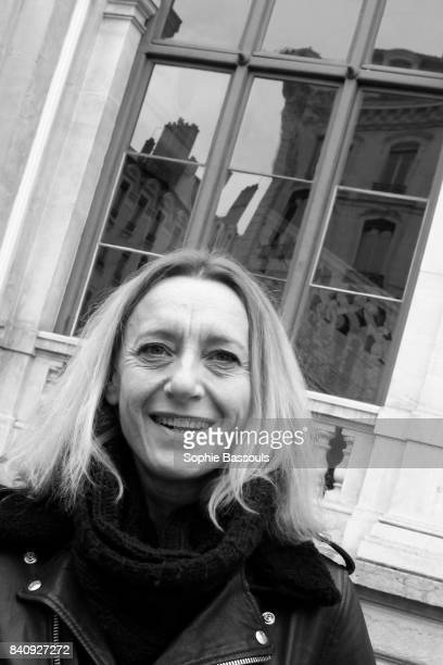 Virginie Despentes French novelist and member of the Academie Goncourt in Lyon at the Festival Quai du Polar 28th March 2015