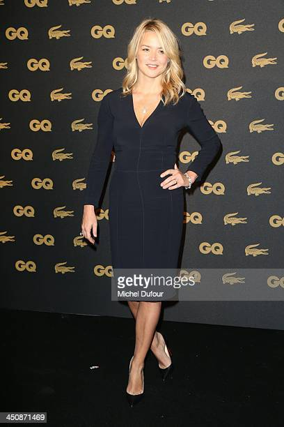 Virginie Effira attends GQ Men Of The Year Awards 2013 Photocall At Museum d'Histoire Naturelle at Museum d'Histoire Naturelle on November 20 2013 in...