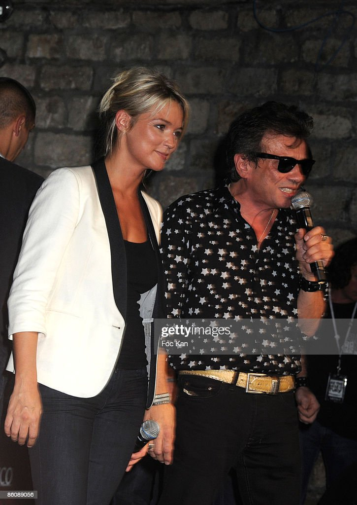 Virginie Efira and Philippe Manoeuvre attend The Converse 100th Anniversary Party and Iggy Pop Concert at the Show Case Club on September 04, 2008 in Paris, France.