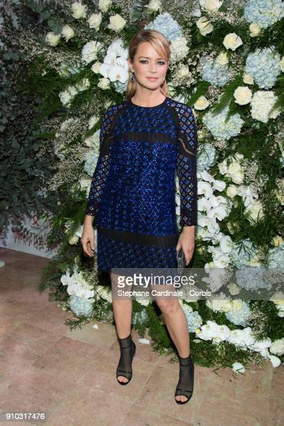 Virginie Efira attends the 16th Sidaction as part of Paris Fashion Week on January 25 2018 in Paris France