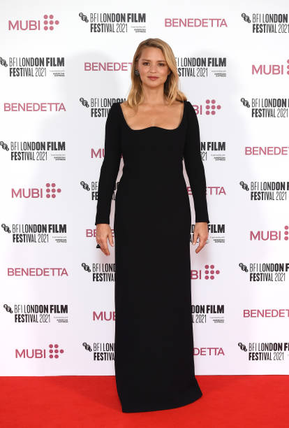"GBR: ""Benedetta"" UK Premiere - 65th BFI London Film Festival"