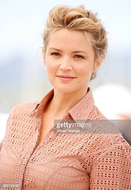 Virginie Efira attends the 'Elle' Photocall during the 69th annual Cannes Film Festival at the Palais des Festivals on May 21 2016 in Cannes France