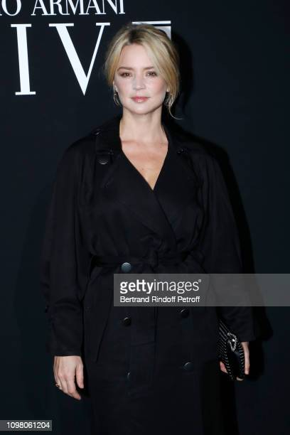 Virginie Efira attends the Giorgio Armani Prive Haute Couture Spring Summer 2019 show as part of Paris Fashion Week on January 22 2019 in Paris France
