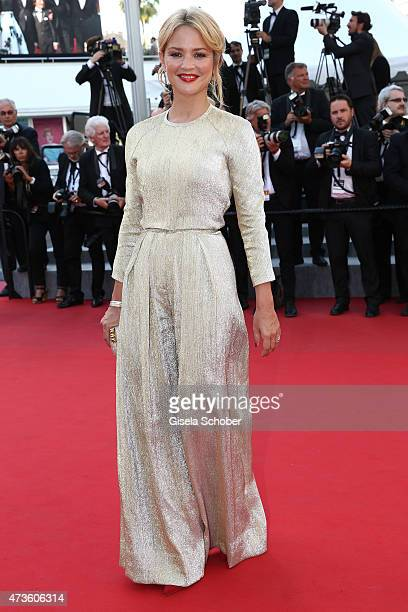 Virginie Efira attends the Premiere of Mia Madre during the 68th annual Cannes Film Festival on May 16 2015 in Cannes France