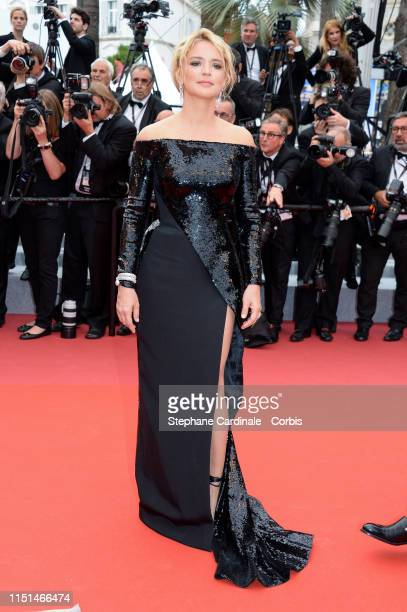 Virginie Efira attends the screening of Sibyl during the 72nd annual Cannes Film Festival on May 24 2019 in Cannes France