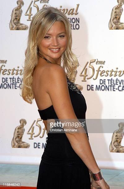 Virginie Efira during 45th Monte Carlo Television Festival Opening Ceremony Red Carpet at Grimaldi Forum in Monte Carlo Monaco